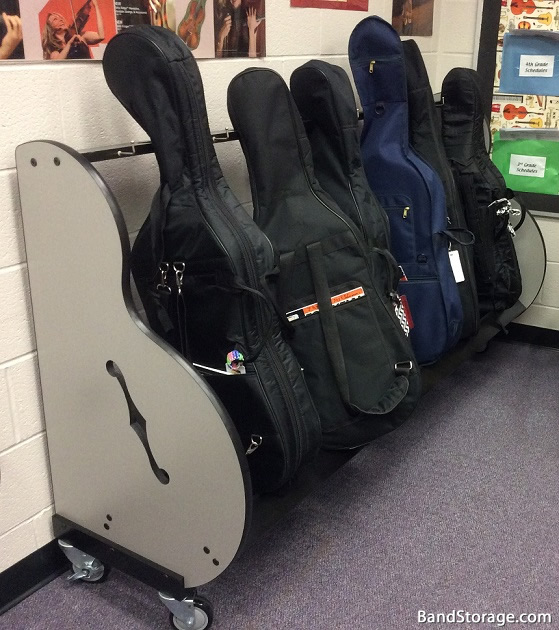 Cello Case Storage Rack