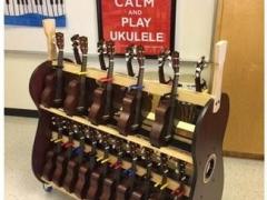 ukulele classroom storage