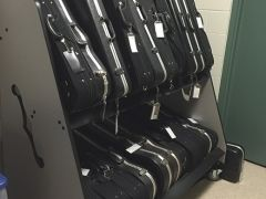violin case storage unit