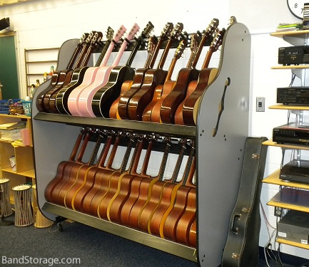 The Band Room™ Double-Stack Guitar Rack