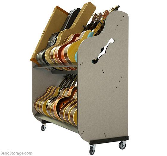 School Guitar Storage Unit
