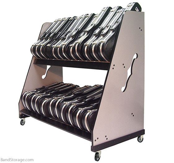 Violin Case Storage Rack