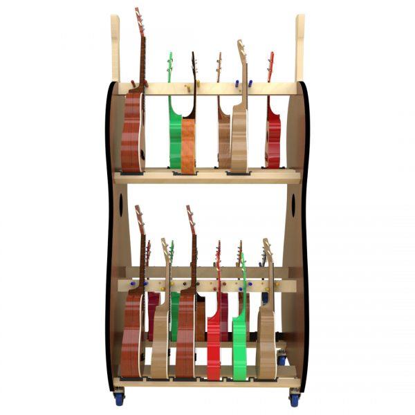 18 ukulele storage rack