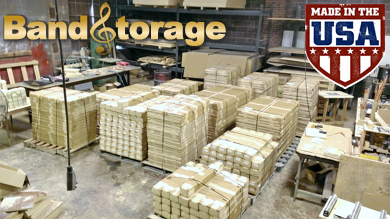 band instrument storage inventory