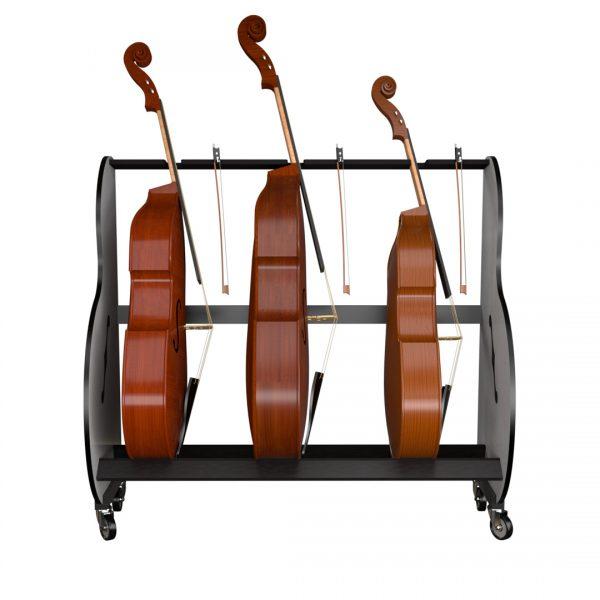double bass storage rack