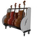 4 Cello Rack