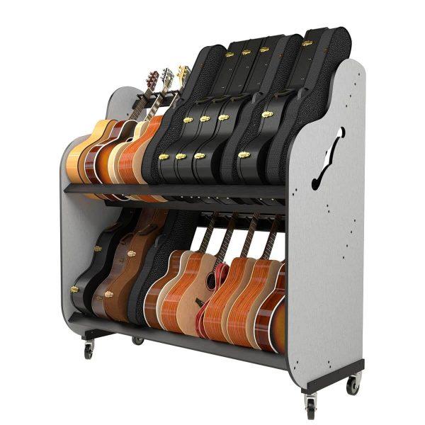 guitar and case shelves