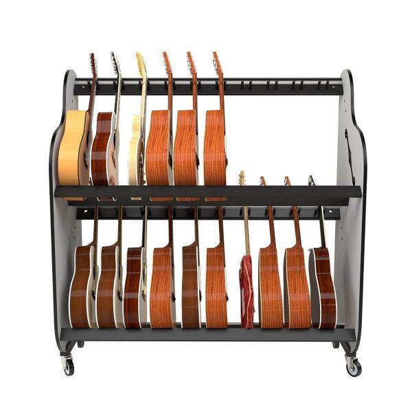 guitar storage shelf rack