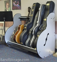 Guitar Instrument Storage