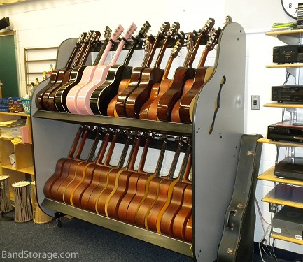 School Instrument Storage Unit