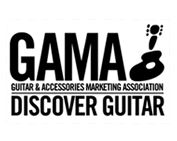 Logo for Guitar and Accessories Marketing Association