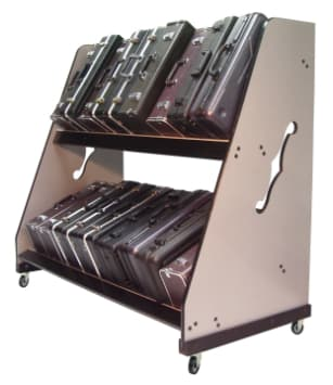 Classroom Storage for Trumpet Cases