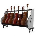 6 Cello Rack