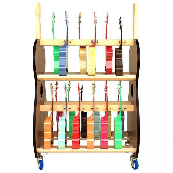 soprano ukulele storage cart