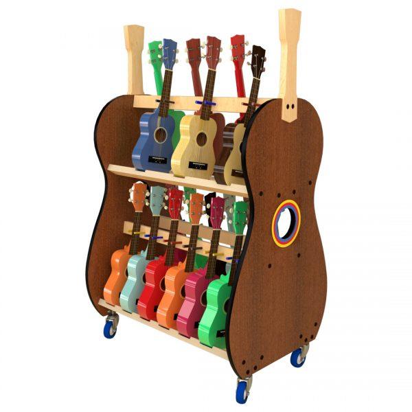 soprano ukulele storage rack