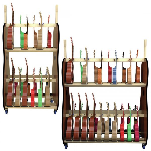 ukulele storage racks for schools